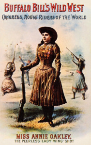 At a young age, Annie Oakley proved to America that women could be just as talented with firearms as men.