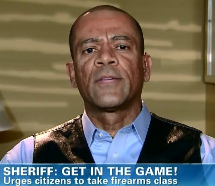 Sheriff David Clarke 3 get in the game
